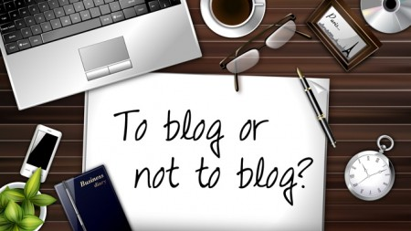 A blogging discussion; To blog or not to blog